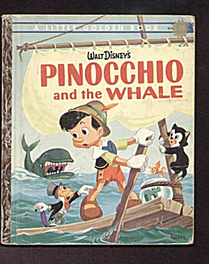 Pinocchio And The Whale - Little Golden Book