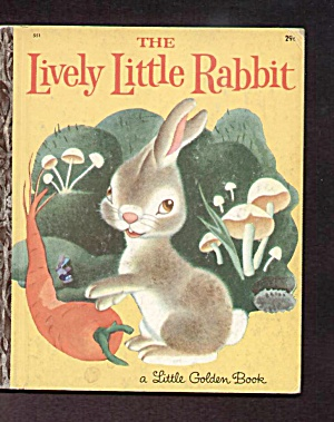 Little Lively Rabbit - Little Golden Book