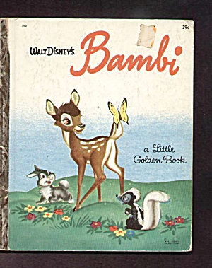 BAMBI - Disney - Little Golden Book (Image1)