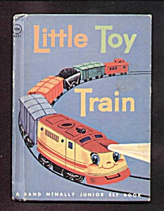 Little Toy Train Jr. Elf Book