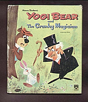 Yogi Bear And The Cranky Magician Top Top Tales Book
