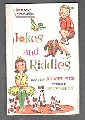 JOKES AND RIDDLES - Wonder Bk Easy Reader (Image1)