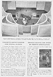 1915 Boston DENTAL AMPHITHEATER Mag. Article (Image1)