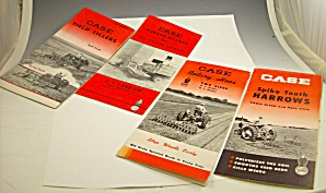 Lot Of 1950s? Case Tractor Sales Brochures