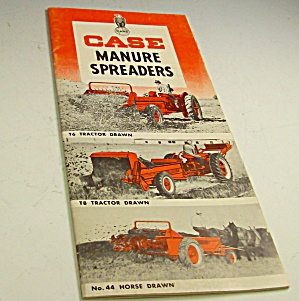 1950s? Case Tractor Manure Spreaders Brochure
