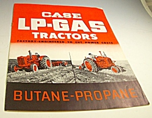 Case Lp-gas Farm Tractor La/d Series Brochure