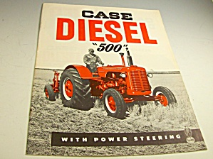 Case Diesel Farm Tractor 500 Series Brochure