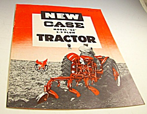 Case Series Sc Farm Tractor Sales Brochure