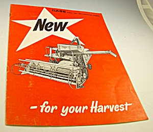 Case Tractor Self Propelled Combine Brochure-original