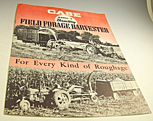 Case Tractor Model C Harvester Brochure-original