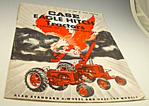 1953?case Eagle Hitch Farm Tractor Series S/d Dealer Brochure
