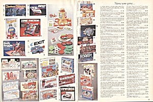 BOARDGAMES: A-Team, Ewok+  PAGES - 1984 Sears Wish Book (Image1)