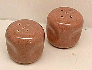 RUSSEL WRIGHT Coral Salt and Pepper Shakers (Image1)