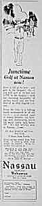 1926 NASSAU Golfing Magazine Ad (Image1)