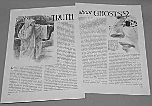 1927 TRUTH ABOUT GHOSTS Mag. Article (Image1)