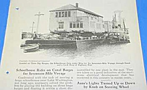 1925 LAKE WASHINGTON SCHOOLHOUSE Moving Article (Image1)
