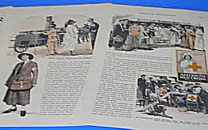 1926 RED CROSS-PATH OF DISASTER  Mag. Article (Image1)