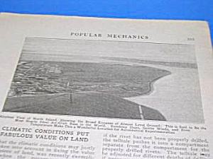 1922 NORTH ISLAND, SAN DIEGO, CAL Mag Article (Image1)