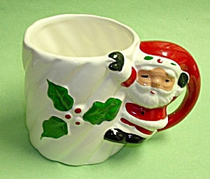 Vintage SANTA CLAUS (Full Body) Coffee Mug (Image1)