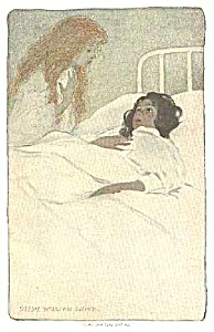 c.1900 JESSIE WILLCOX SMITH Sick Child Print (Image1)
