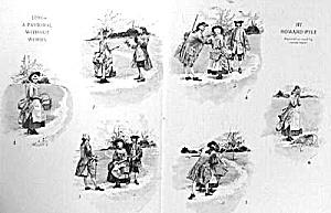1937 (1890) HOWARD PYLE Pastoral Mag. Print (Image1)