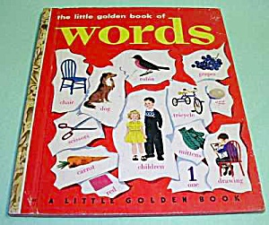 Golden Book Of Words #45 Scarce 1948