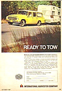 1968 INTERNATIONAL TRAVELALL Color Magazine Ad (Image1)