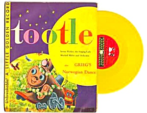 1948 Tootle Golden Record Childrens Story