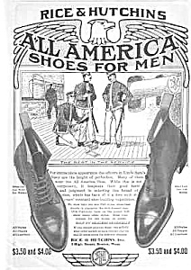 1905 RICE & HUTCHINS SHOES Mag. Ad (Image1)