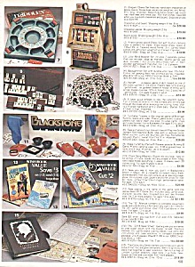 BLACKSTONE MAGIC SET+ 1984 Wish Book Page (Image1)