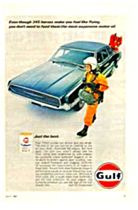 1967 FORD THUNDERBIRD - GULFPRIDE OIL CAN Ad (Image1)