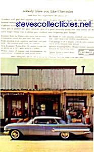 1960 Chevy CHEVROLET IMPALA Auto Magazine Ad (Image1)