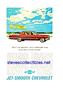 1963 Chevy CHEVROLET IMPALA SPORT COUPE Auto Mag. Ad (Image1)