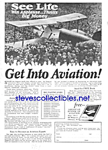 1927 American Aviation School LEARN TO FLY Ad (Image1)