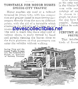 1927 Nyc Bus - Turntable Mag Article L@@k