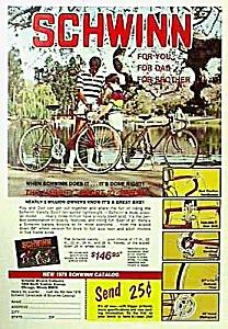1978 Color SCHWINN BICYCLE Mag. Ad (Image1)