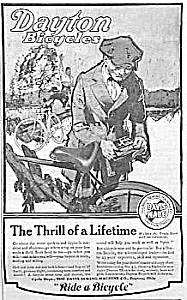1920 DAYTON BICYCLE Magazine Ad (Image1)