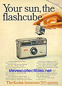 1967 KODAK INSTAMATIC 104 Camera  Ad (Image1)