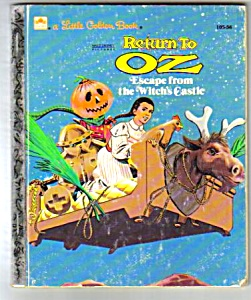 Return To Oz Little Golden Book