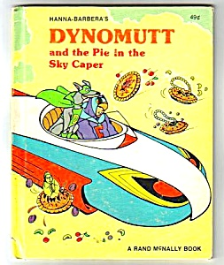 Dynomutt And The Pie In The Sky Caper Elf Book