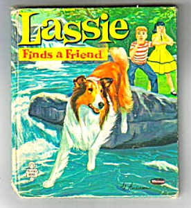 LASSIE FINDS A FRIEND Tell-A-Tale Book #2571 (Image1)