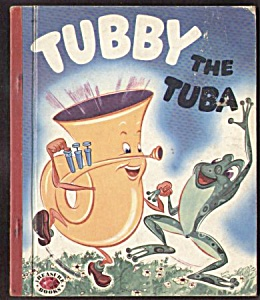 TUBBY THE TUBA - Treasure Book 1954 (Image1)