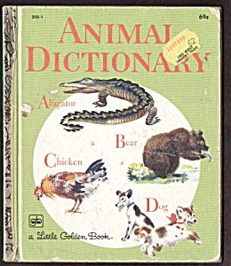 Animal Dictionary - Little Golden Book