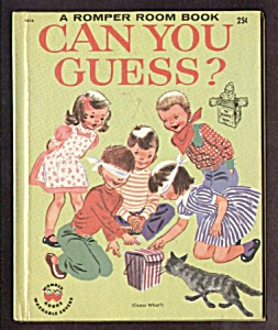 Romper Room Can You Guess? Wonder Book
