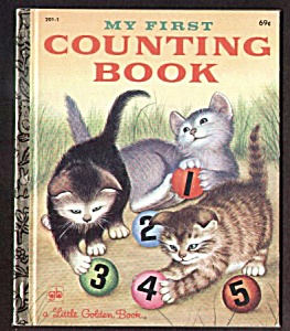 My First Counting Book - Little Golden Book