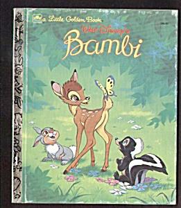 BAMBI - Disney Little Golden Book (Image1)