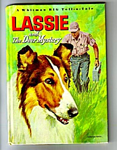 Lassie And The Deer Mystery- Whitman Big Tell A Tale Bk