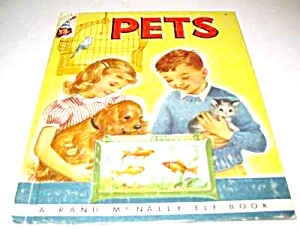 Pets Elf Children's Book - 1954