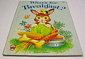 What's For Breakfast? Wonder Book #846