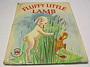 Fluffy Little Lamb Wonder Book - 1962